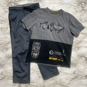 🎉Batman Athletic Works active pants top A7-44